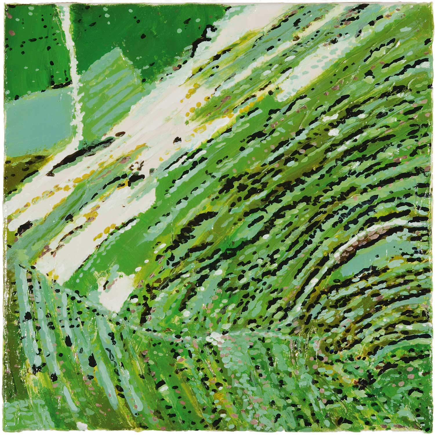 Nordkoreanische Landschaft / 